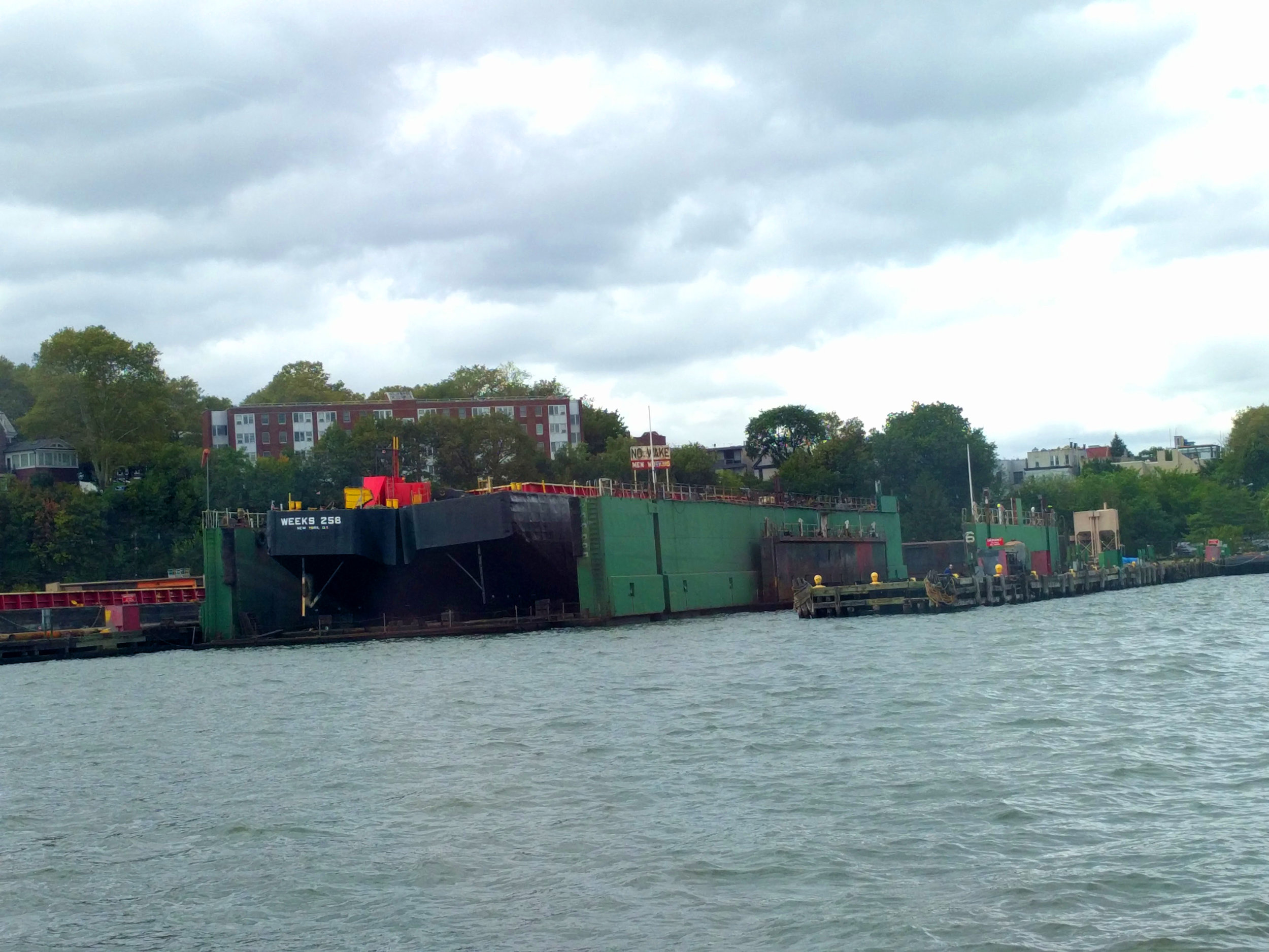 Dry dock to fix barges...and other ships.