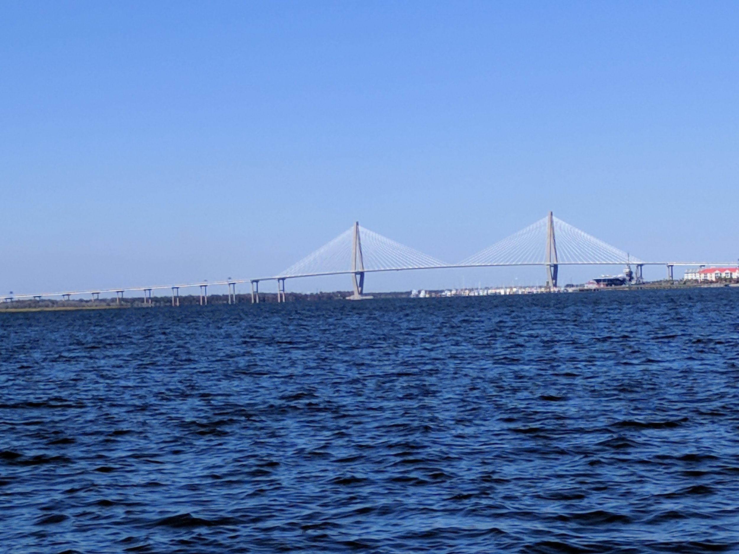 This lovely bridge connects Charleston.