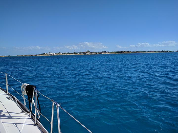 Bahamas ahead!