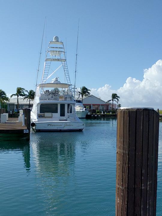 Three tiered fishing boats.