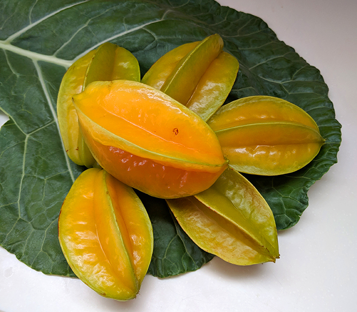 Starfruit and Collard Greens