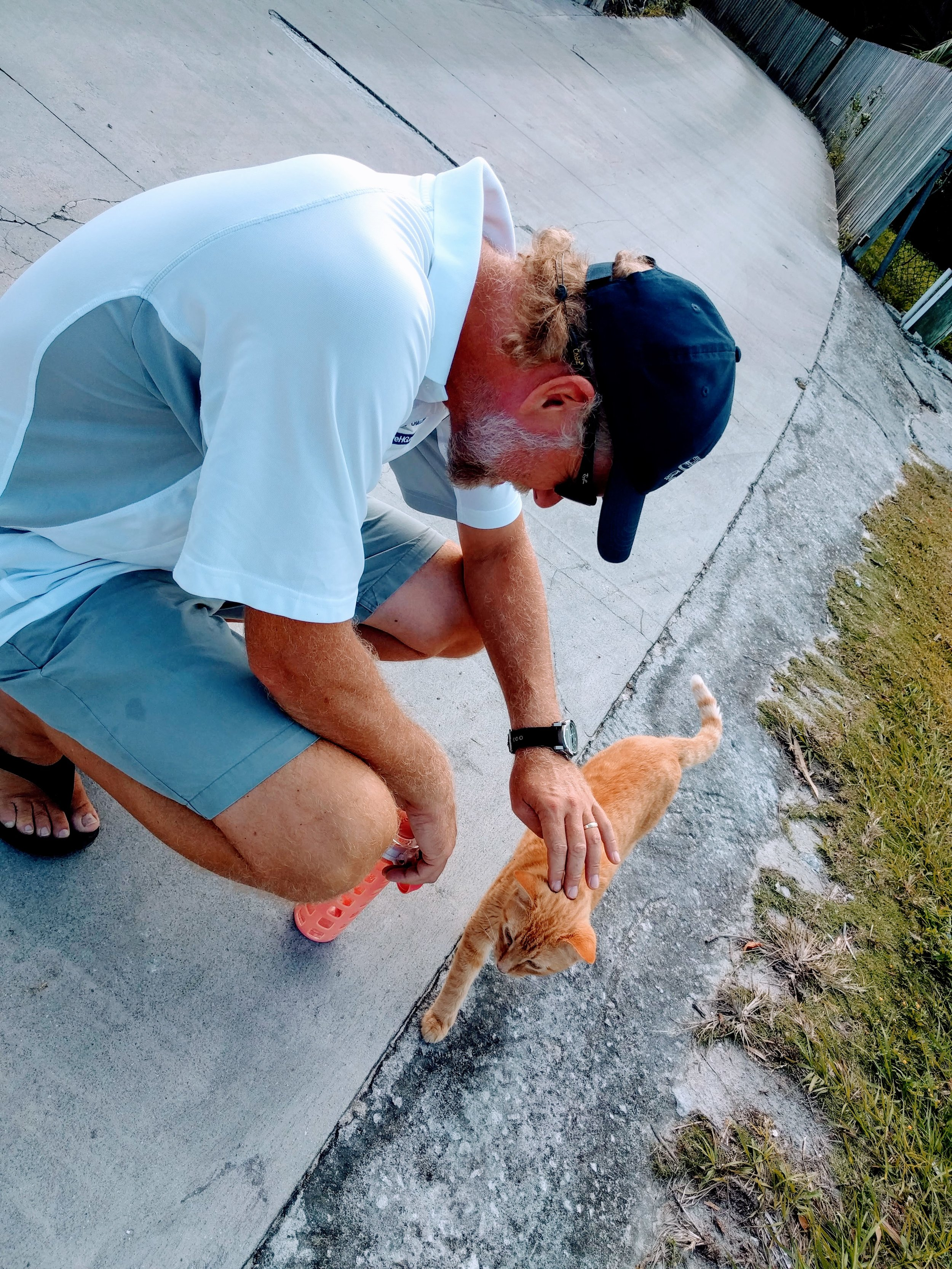 Andrew is enjoying other local wildlife.