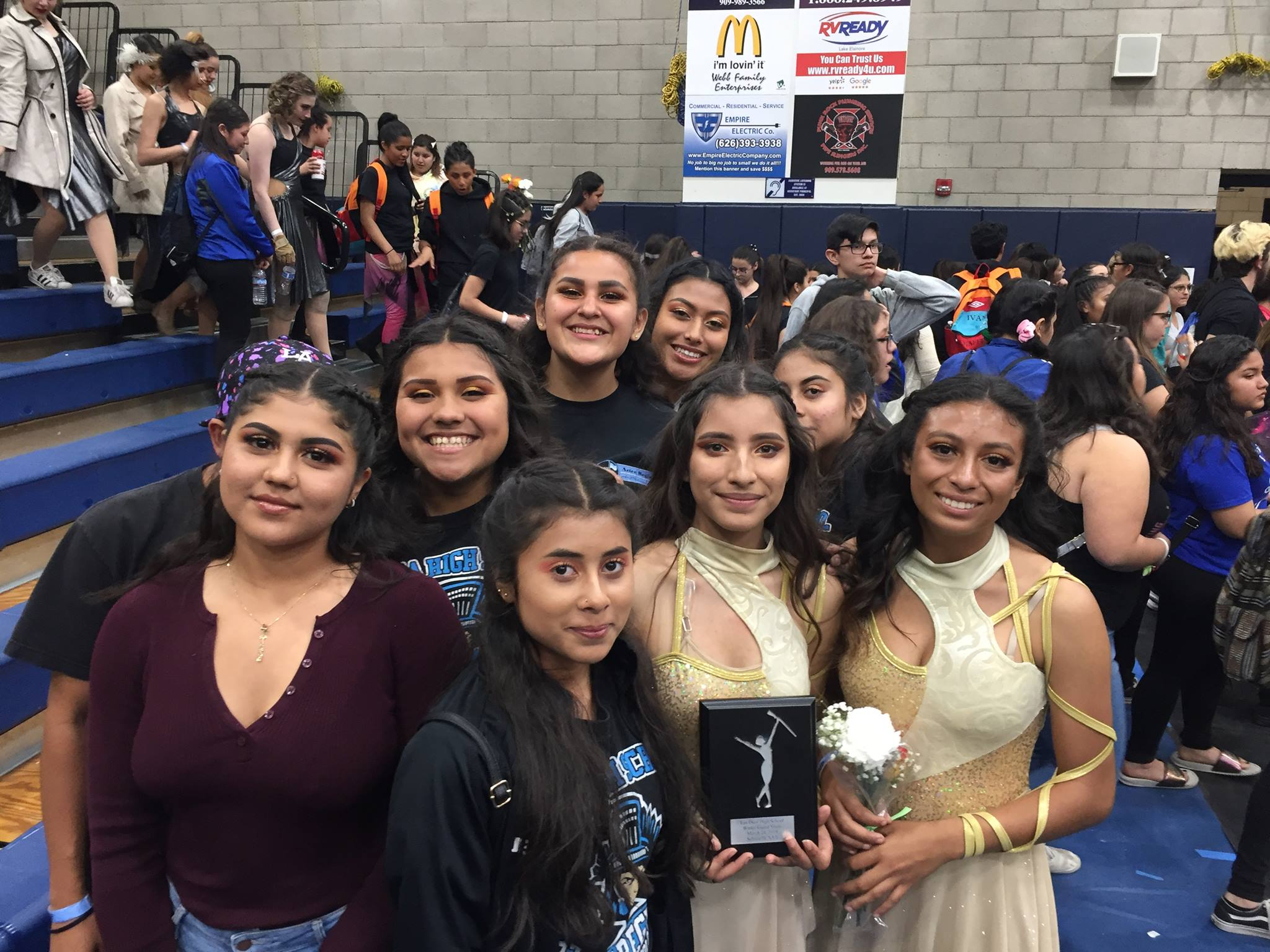 Aztec Regiment had a great weekend with band receiving an unanimous superior at Lakeside High School Friday. Great support from the city of Azusa at our Annual Menudo Cook-Off & Car Show. Thank you to all the hard working parents and students who help to make this a great fundraiser. Finished the weekend with winter guard placing 2nd at Los Osos HS WGASC Tournament.
