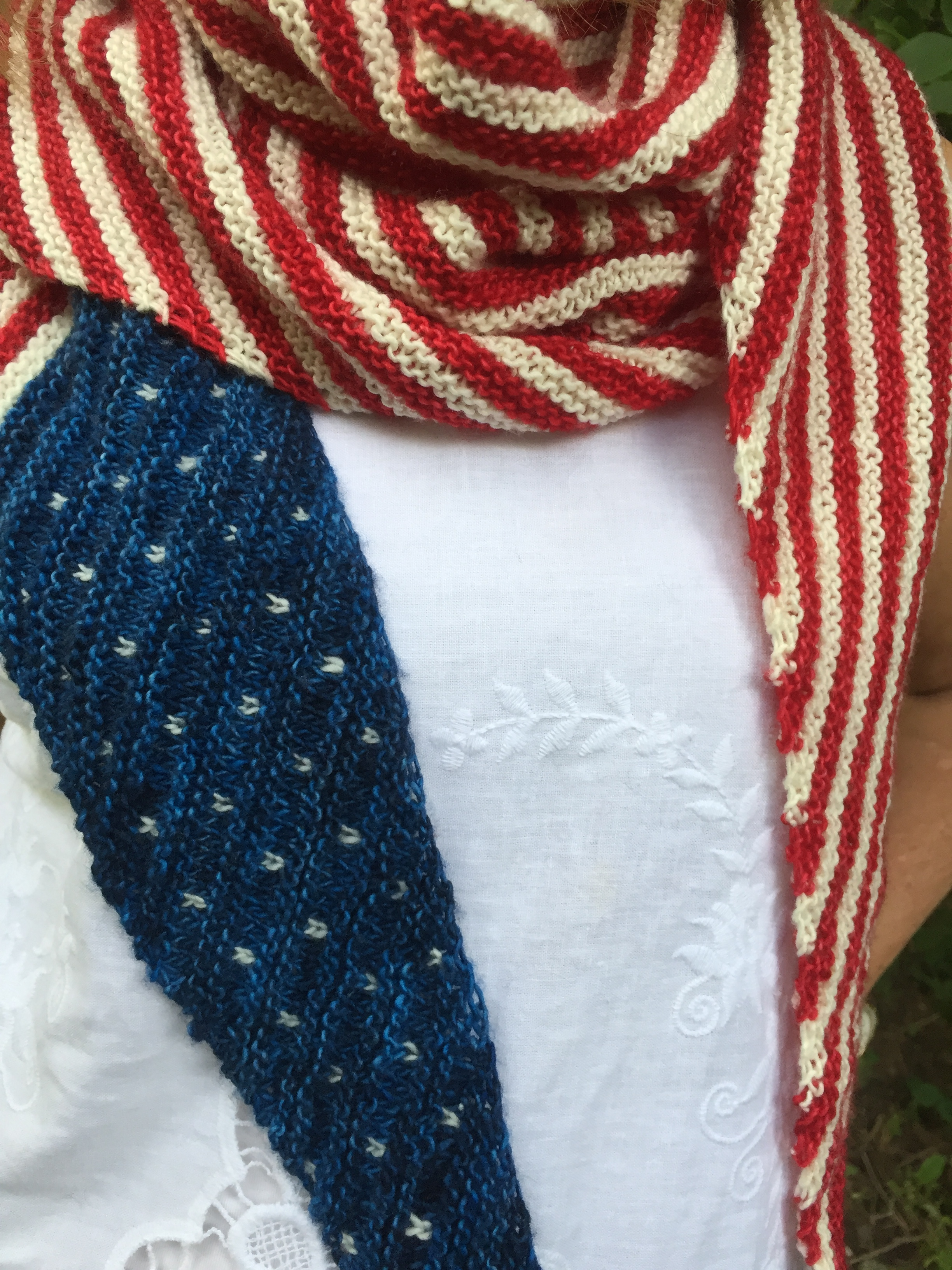Protest is Patriotic Shawlette! Pattern  here!