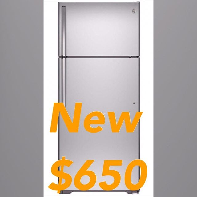For sale we have a couple of these 18 cu. Ft. Stainless steel top mount refrigerators with ice maker if interested give us a call @ 407-518-1770 or visit us @ 2646 N orange blossom trail Kissimmee fl 34744