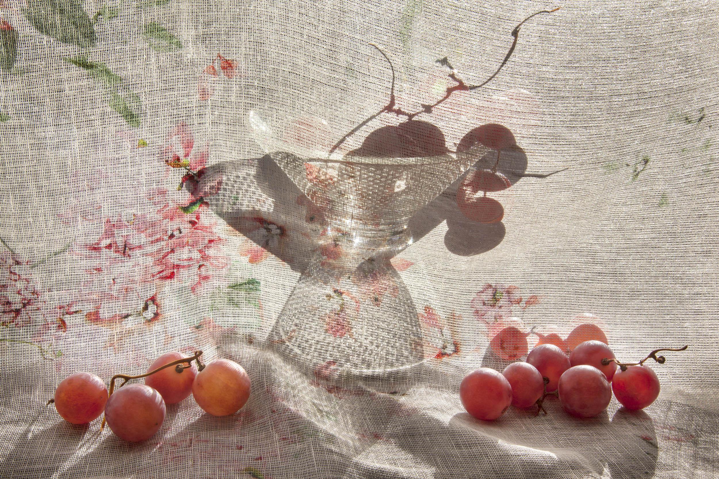 Grapes and Bowl