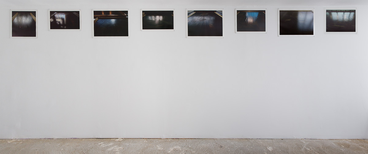 Incident Angles, installed in Pablo Garcia: Flat, at Novella Gallery, NY (2014)