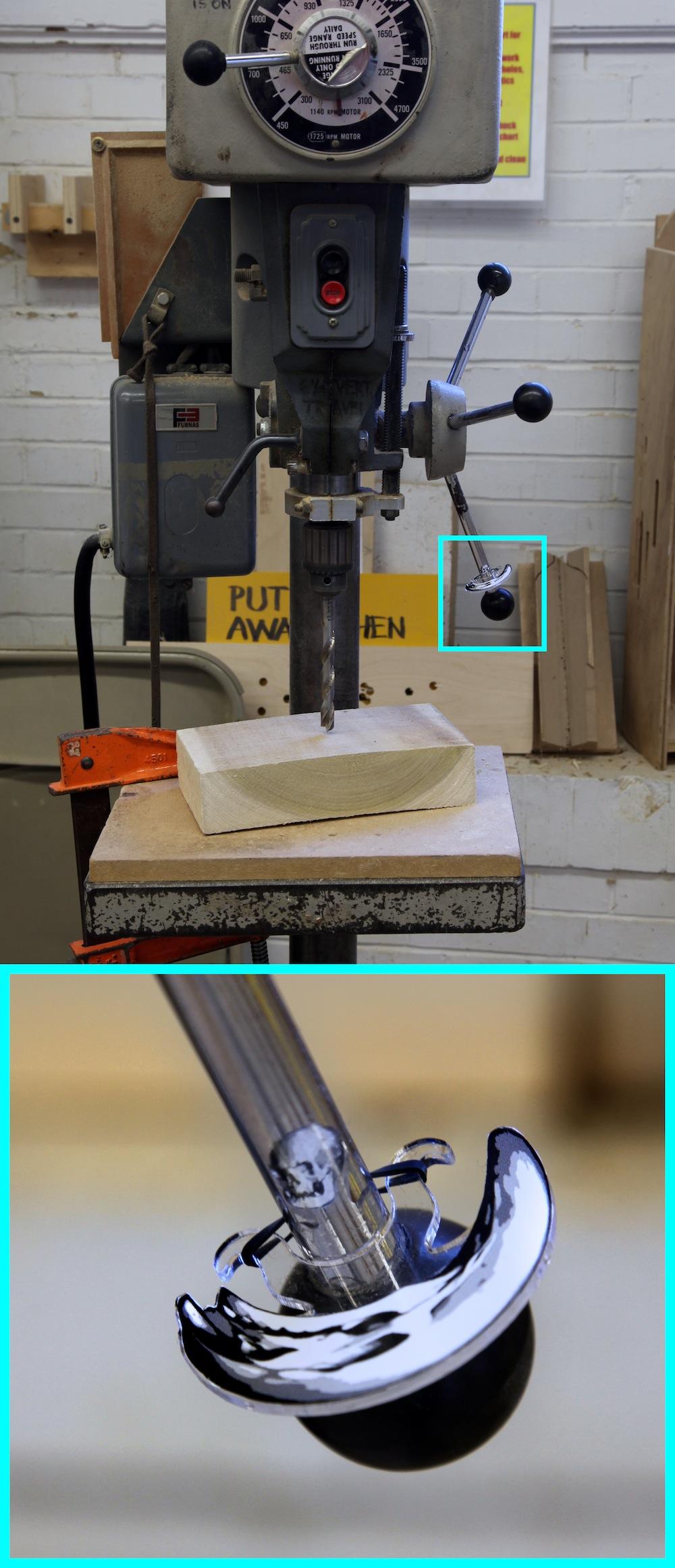 Woodshop Drill Press