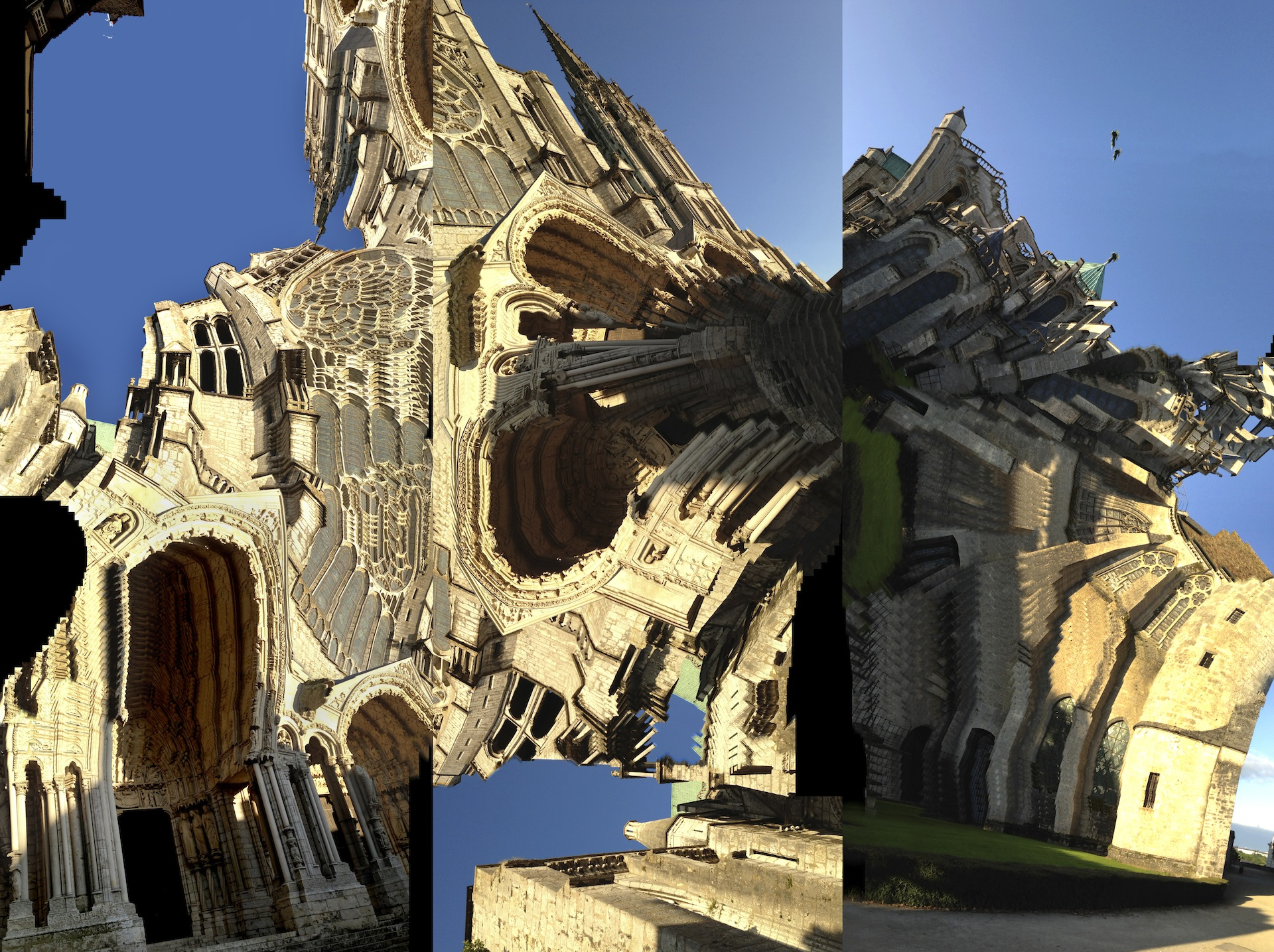 Chartres Cathedral (Triptych)
