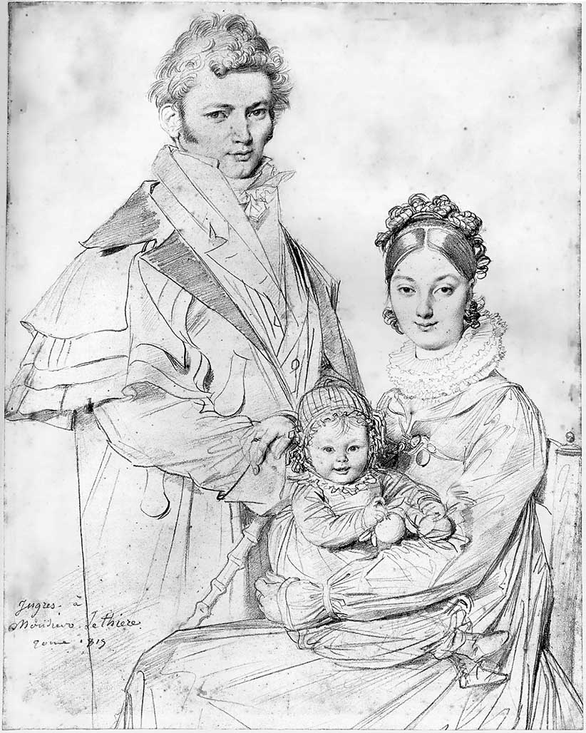 Jean Auguste Dominique Ingres, The Alexandre Lethière Family, 1819