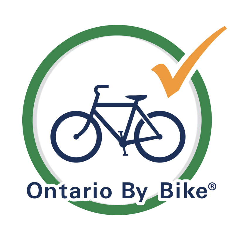 Cobblestone farm is a registered partner of ontario by bike