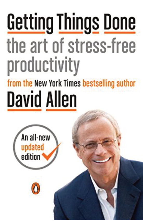 """Getting Things Done  by David Allen   Since it was first published almost fifteen years ago, David Allen's Getting Things Done has become one of the most influential business books of its era, and the ultimate book on personal organization.  """"GTD"""" is now shorthand for an entire way of approaching professional and personal tasks, and has spawned an entire culture of websites, organizational tools, seminars, and offshoots."""