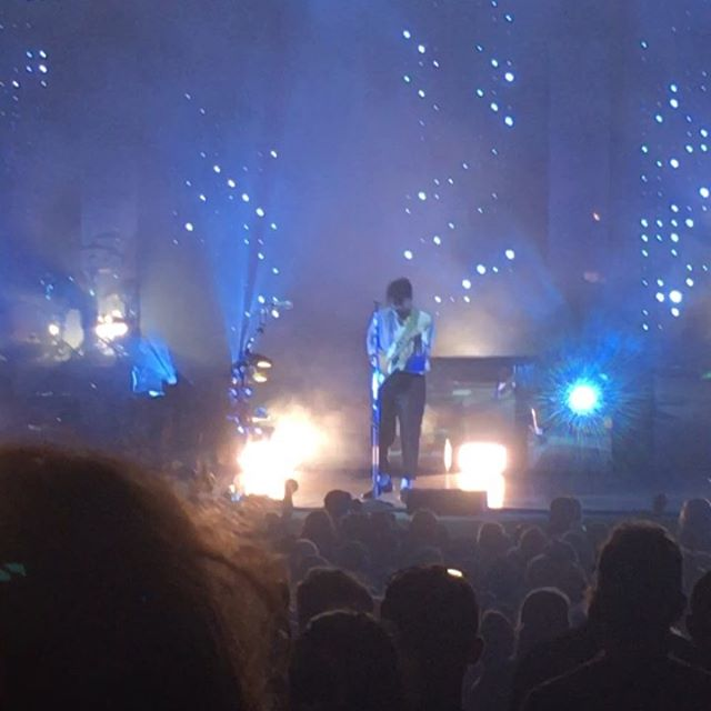 Obligatory snippets of @youngthegiant tonight.  So wonderful, so beautiful, my heart is so full.