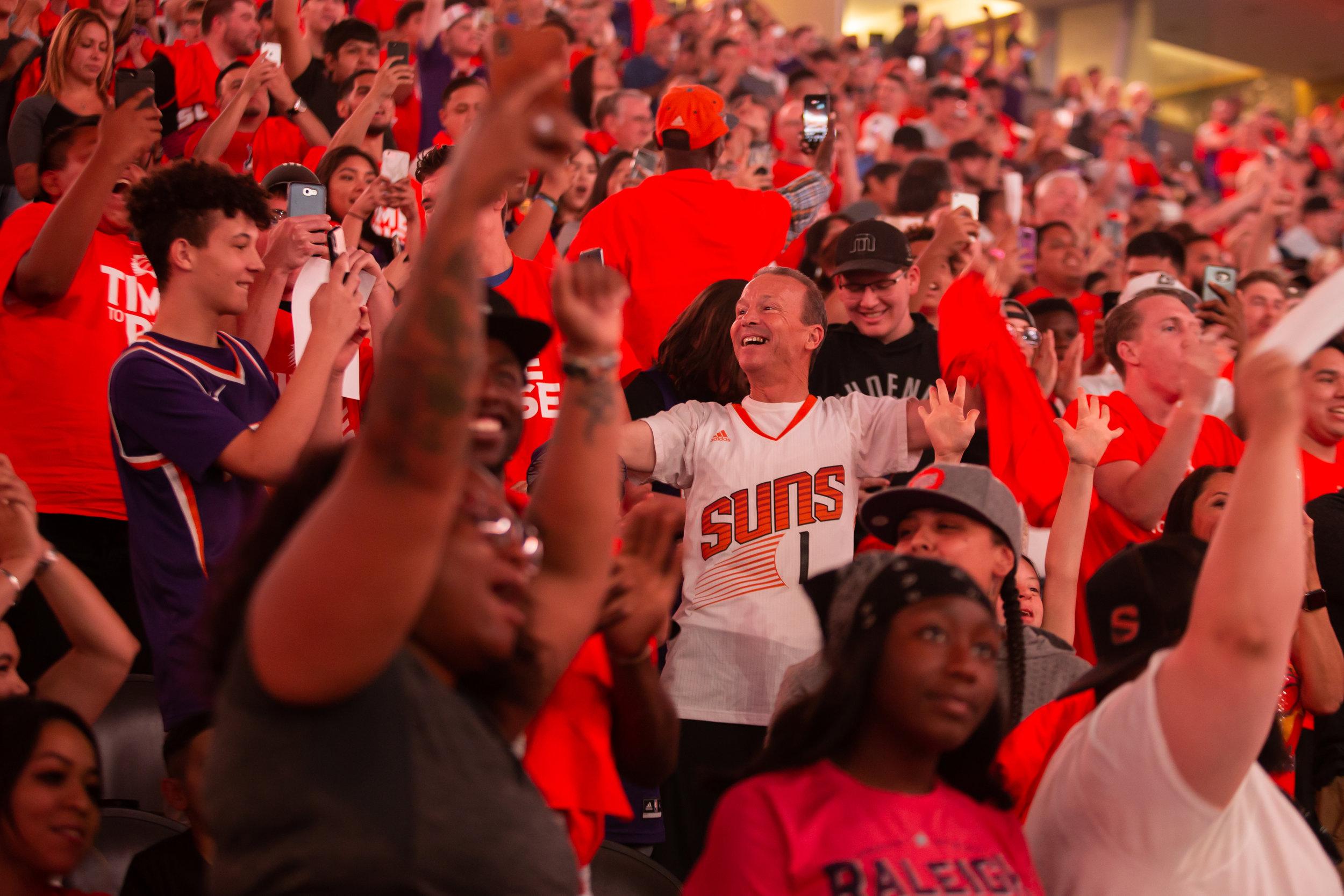Phoenix Suns Draft Party