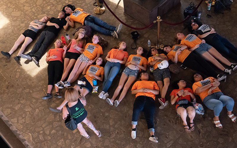"""March For Our Lives """"Die-in"""""""