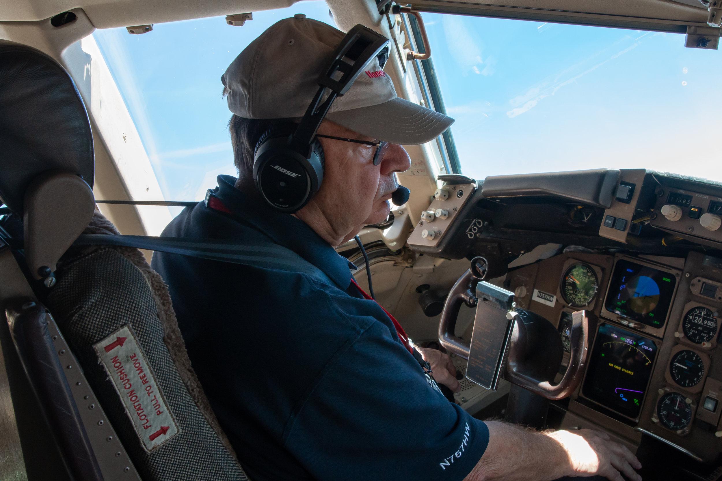 Honeywell Test Flight
