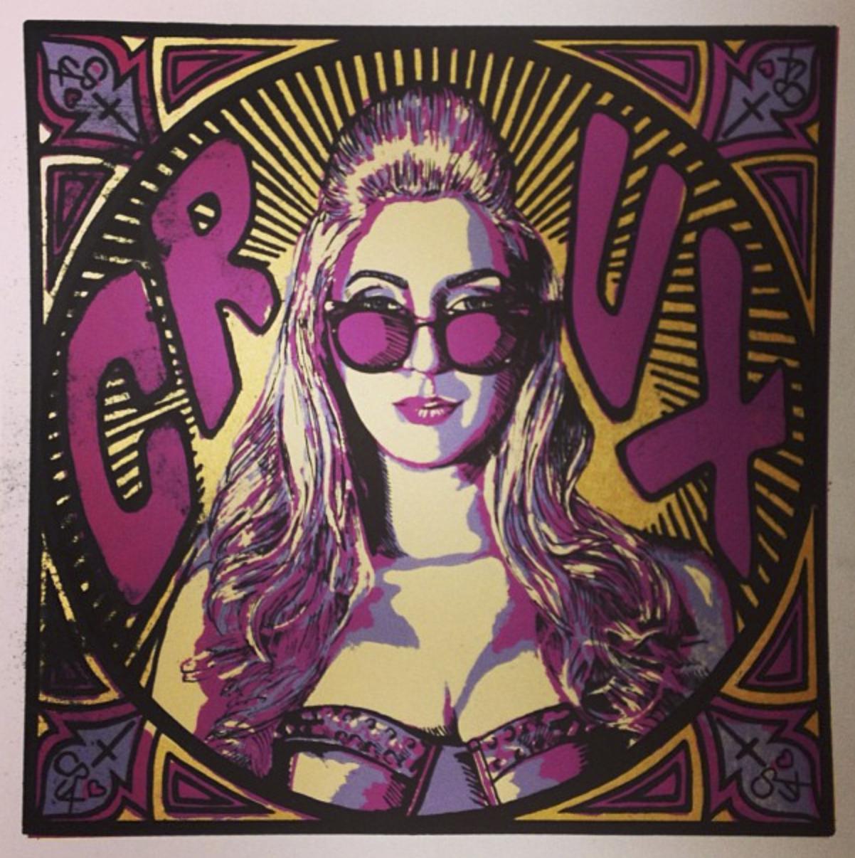 CRUX Album Cover, Screenprint, 2013