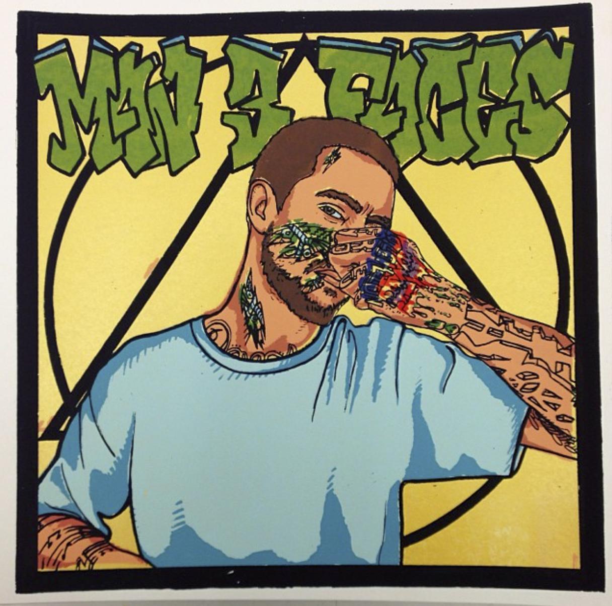 MAN 3 FACES Album Cover, 1 of 50, 2013