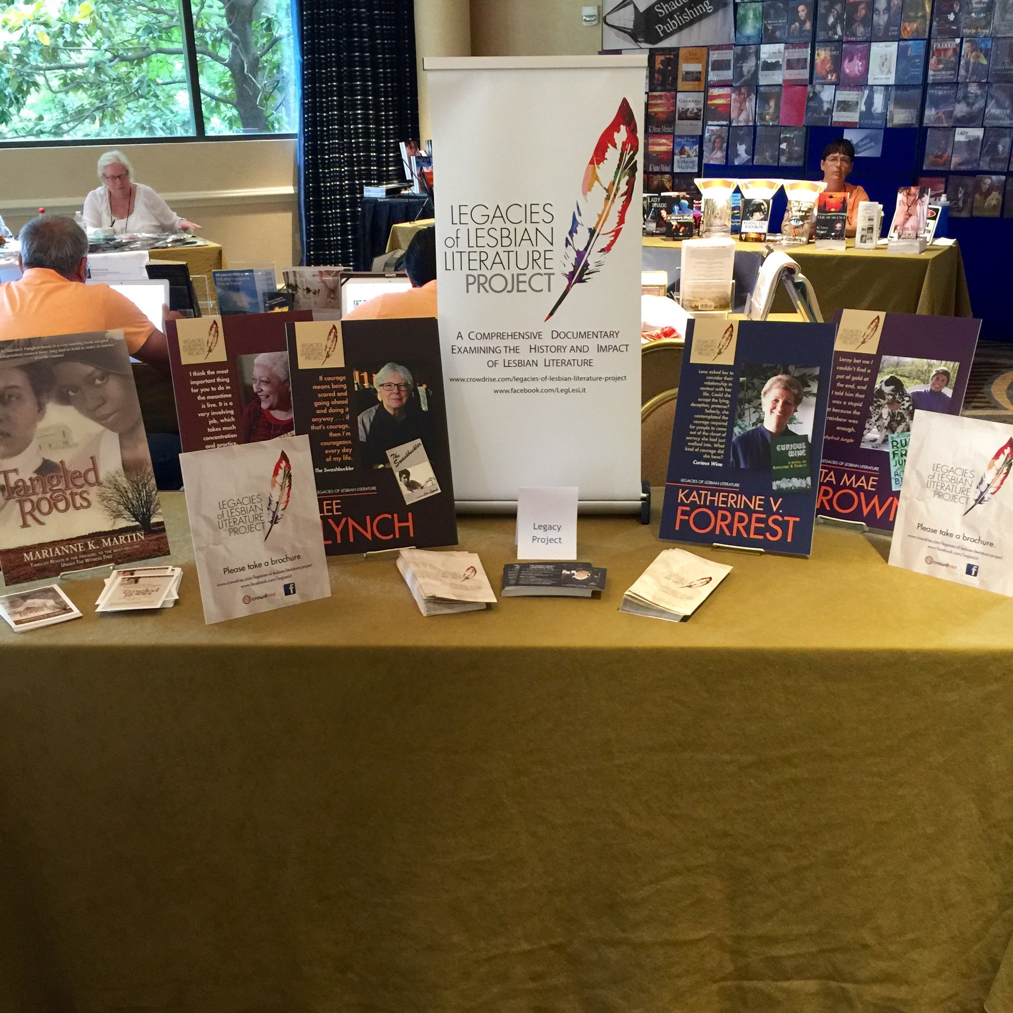 Legacies of Lesbian Literature Project has a presence at the Golden Crown Literary Society's 2016 Conference