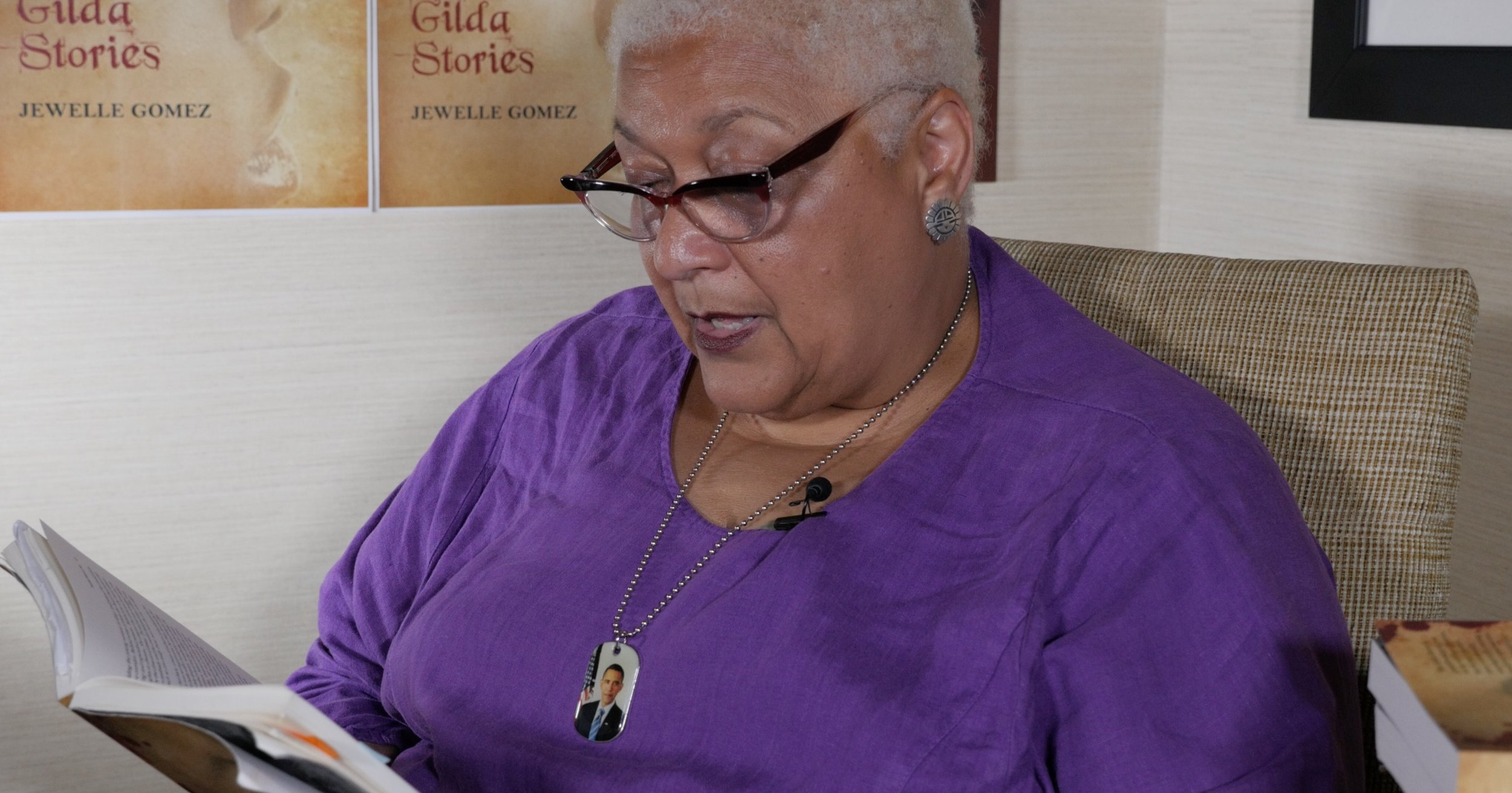 Jewelle Gomez gives us a reading