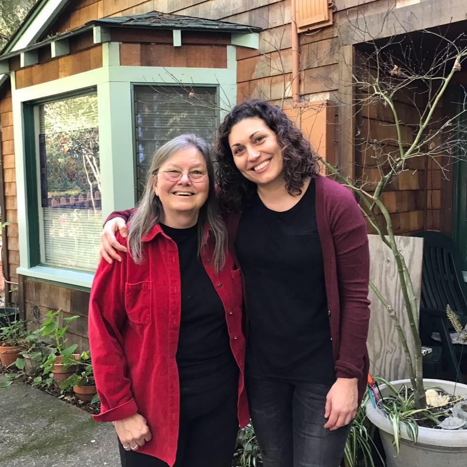 Dorothy Allison & Lisa Marie Evans bonded