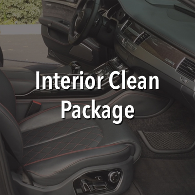 For this service we start by using a high powered vacuum with attaments and brushes to reach and remove all loose dirt and debris from the vehicles interior. Then using our Fortador steam machine, we clean and sanitize the surfaces, seats, floors, and floormats of the cars interior. After the surfaces are cleaned, steam is blown through the A/C vents for sanitization. Leather, vinyl, and rubber in the interior are wiped down and protected with CarPro PERL. This includes the dash, consoles/cupholders, door panels, and seats. Finally the interior windows are cleaned. This service is the equivalent of taking the vehicles interior to a dry cleaner.