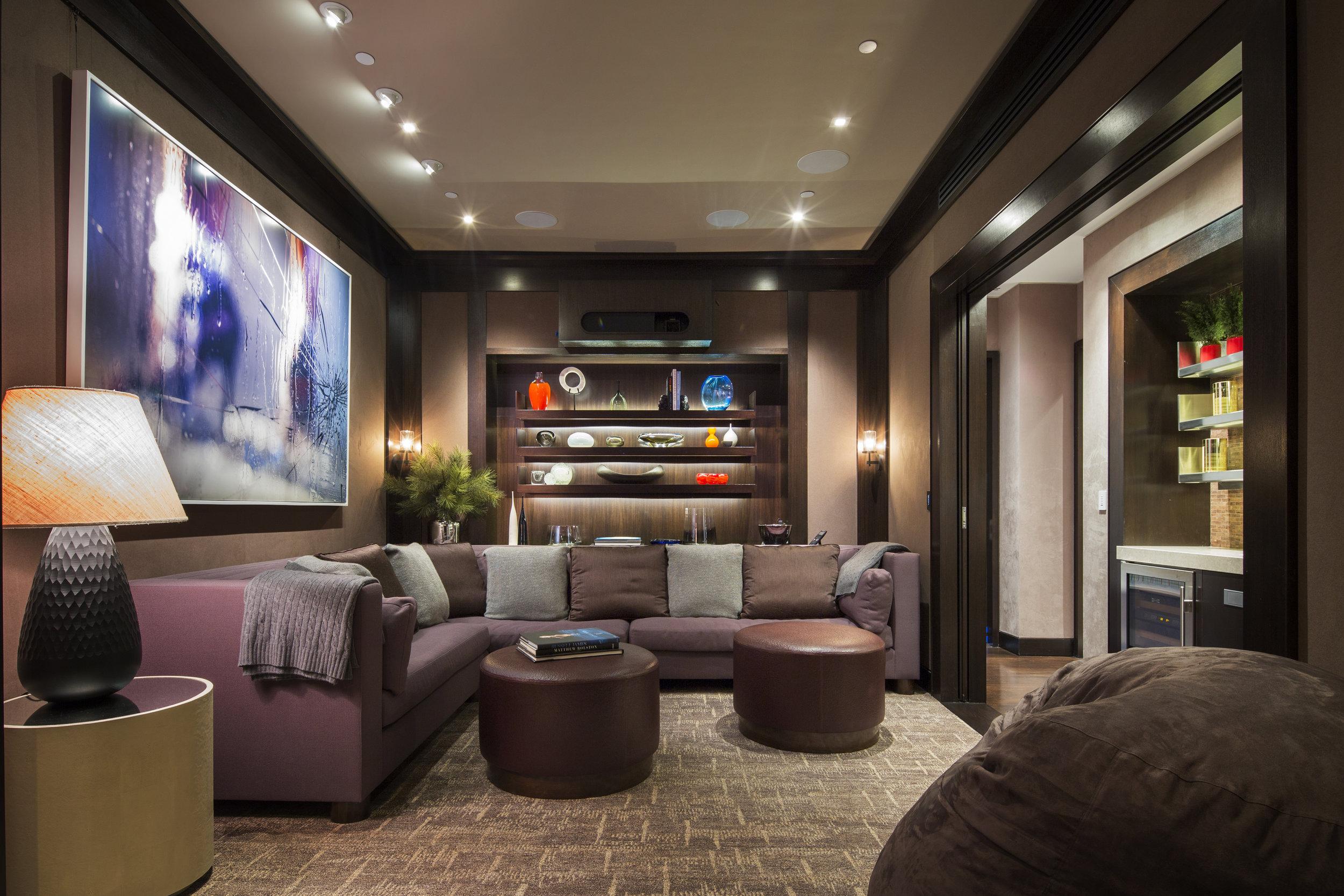 Artist: Marilyn Minter, Interior Design: Campion Platt, Photographer: Scott Frances,Location: New York, New York
