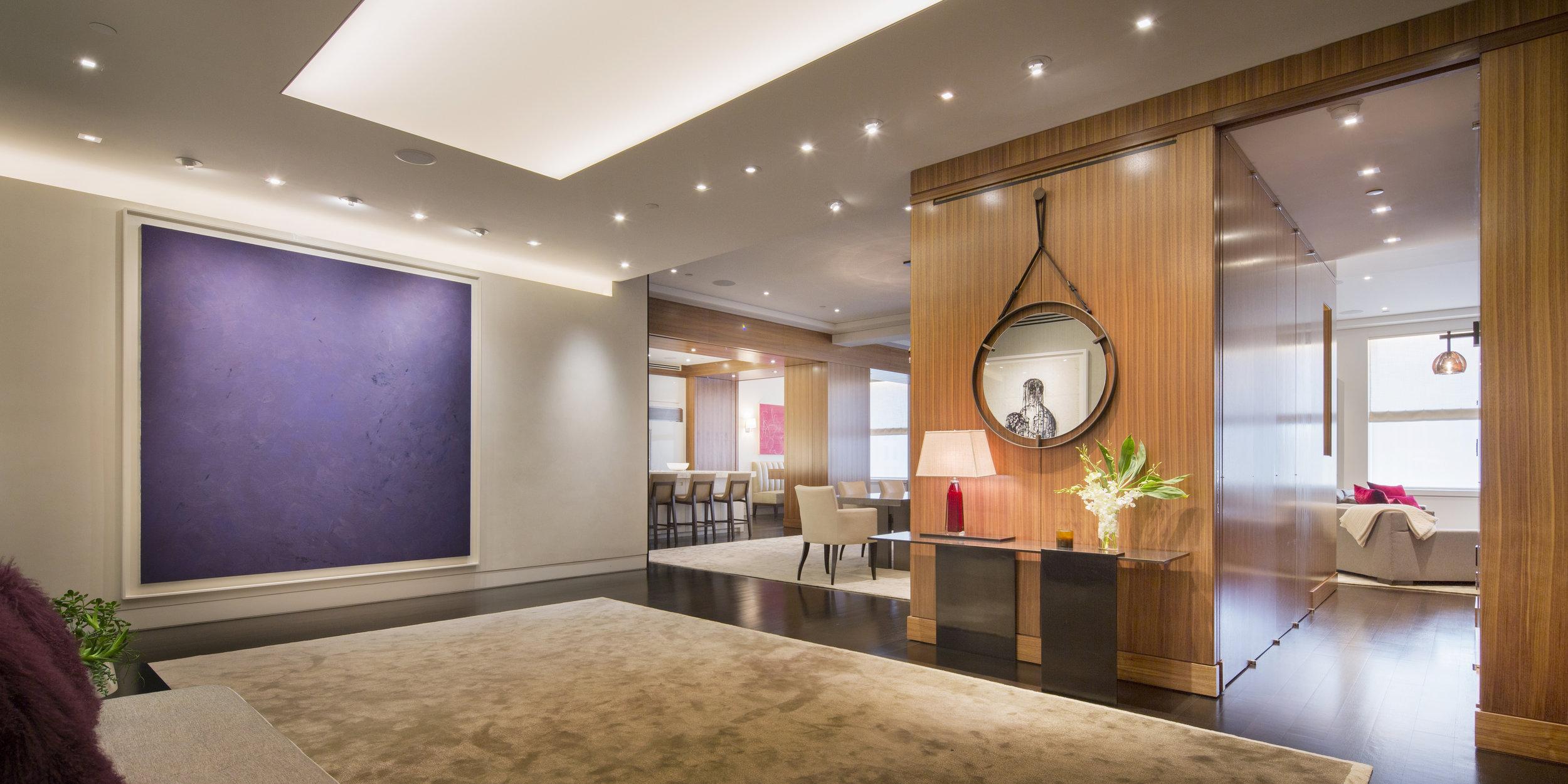Artist: Joe Goode, Interior Design: Campion Platt, Photographer: Scott Frances Location: New York, New York