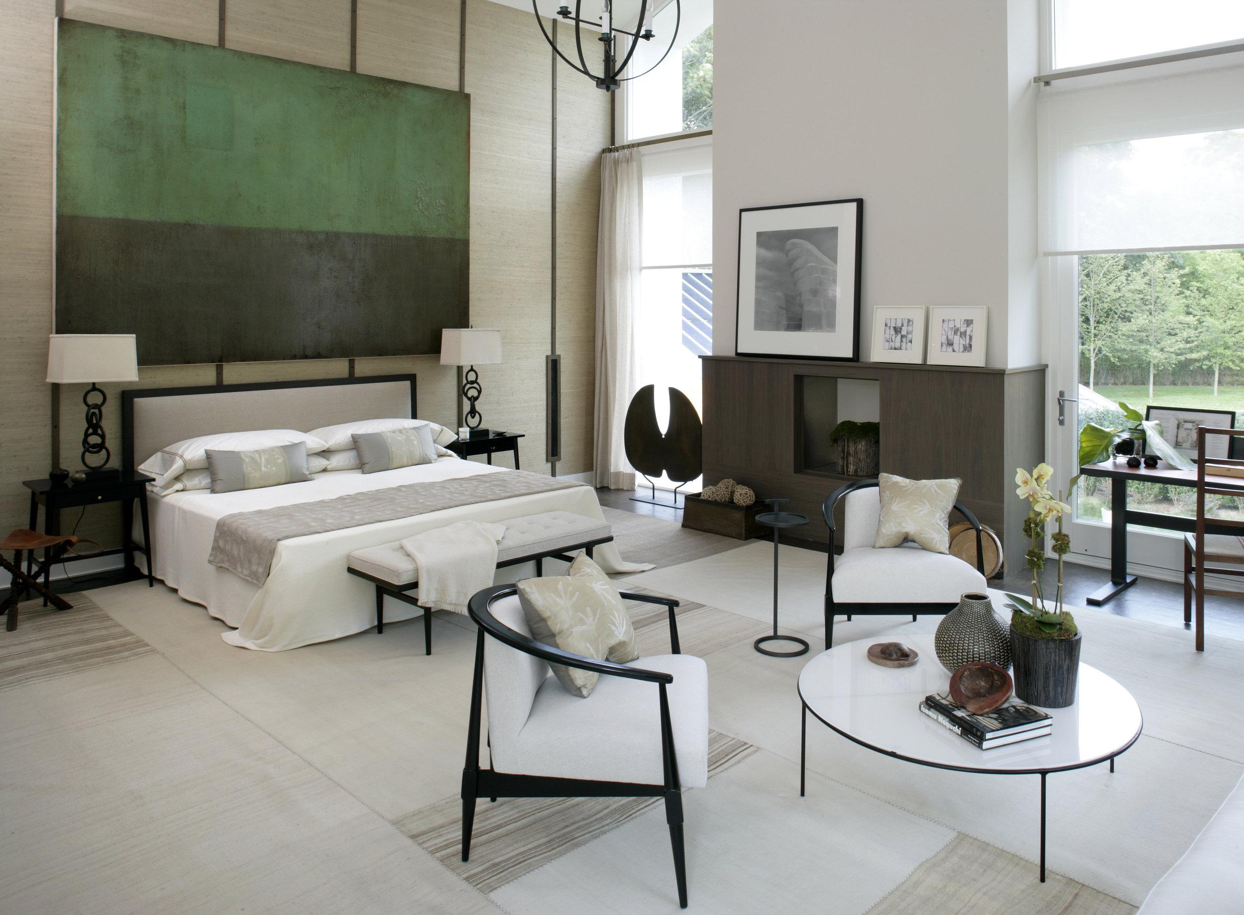 Artist: Antonio Murado, Interior Design: S. Russell Groves