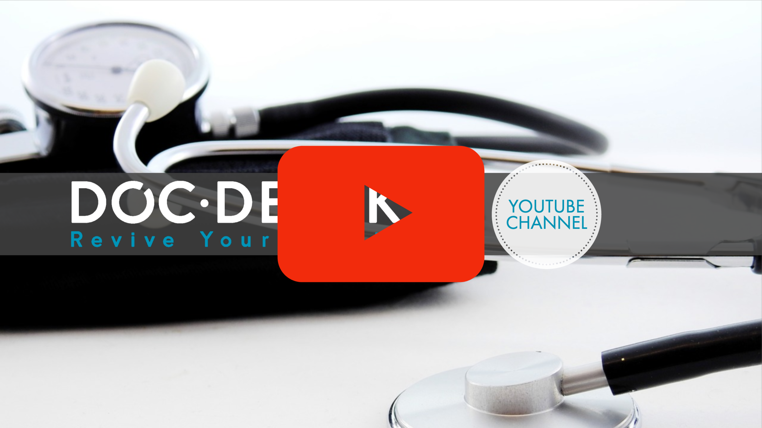 Watch Doc Derek On YouTube - Feeling overwhelmed and lost? We can help direct you to more information that will help you REVIVE YOUR HEALTH!