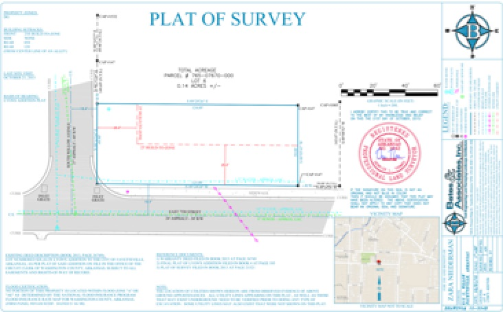plat of survey