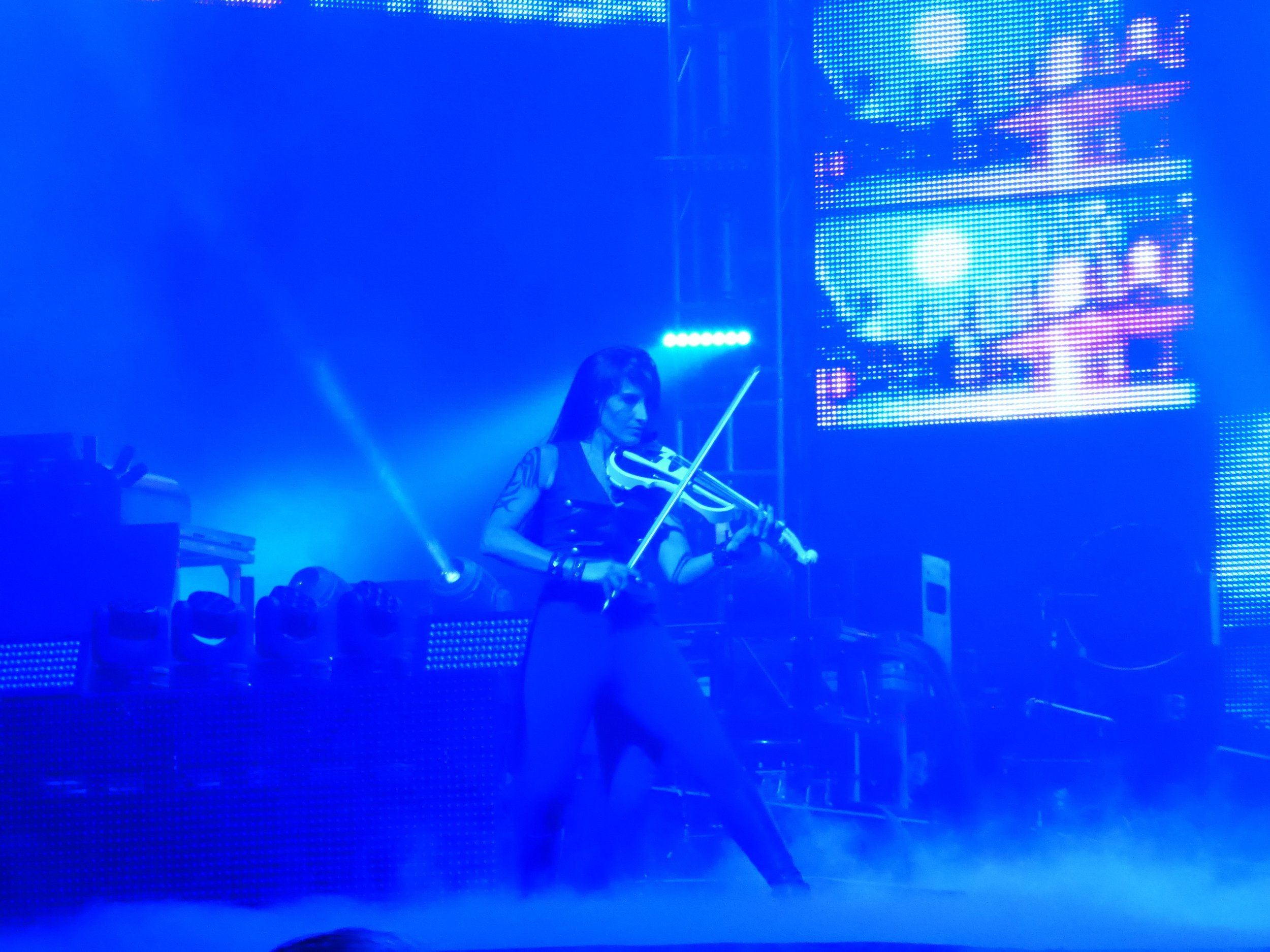 Electric violinist Trans Siberian Orchestra