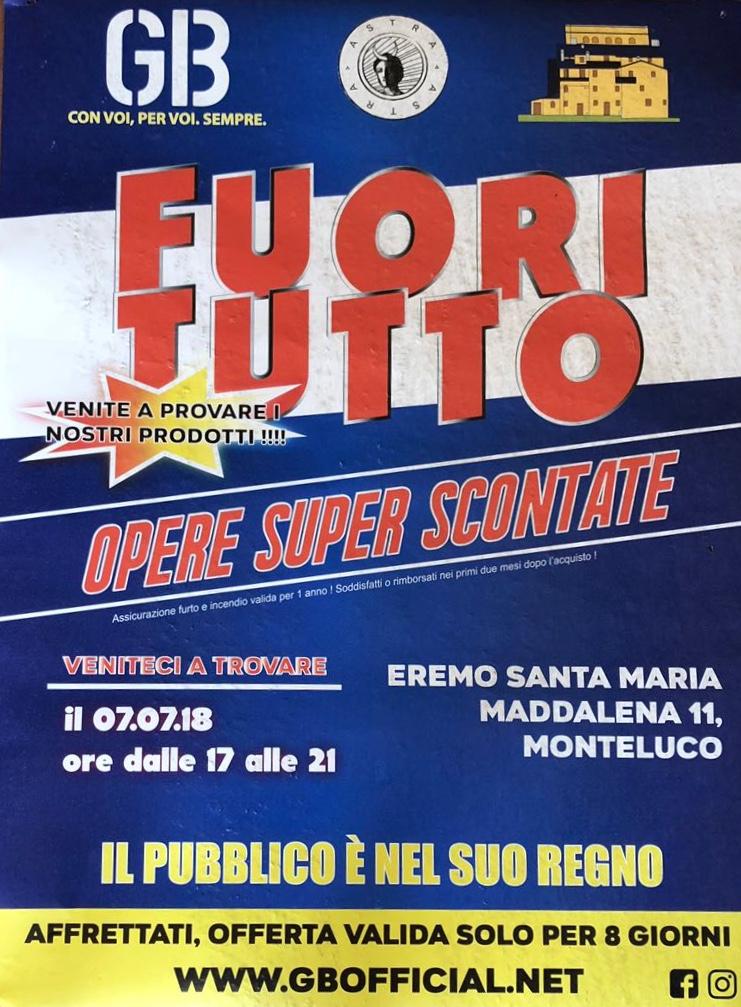 GB Group, Fuori Tutto