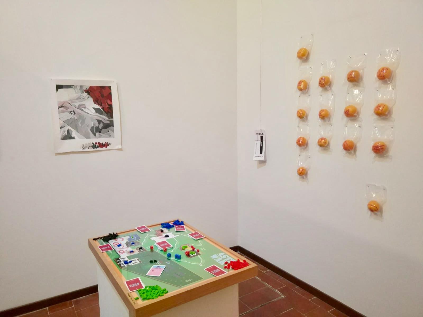 Exhibition view: Paloma Mecozzi, GB Group, Park Hyun Gi