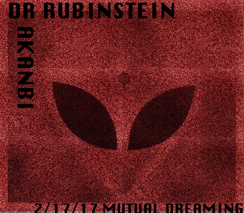 Mutual Dreaming presents Dr. Rubinstein (four hour set), Akanbi  February 2017