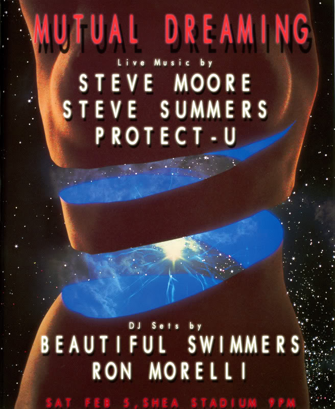 Mutual Dreaming: Steve Moore, Beautiful Swimmers, Steve Summers, Protect-U, Ron Morelli  February 2011