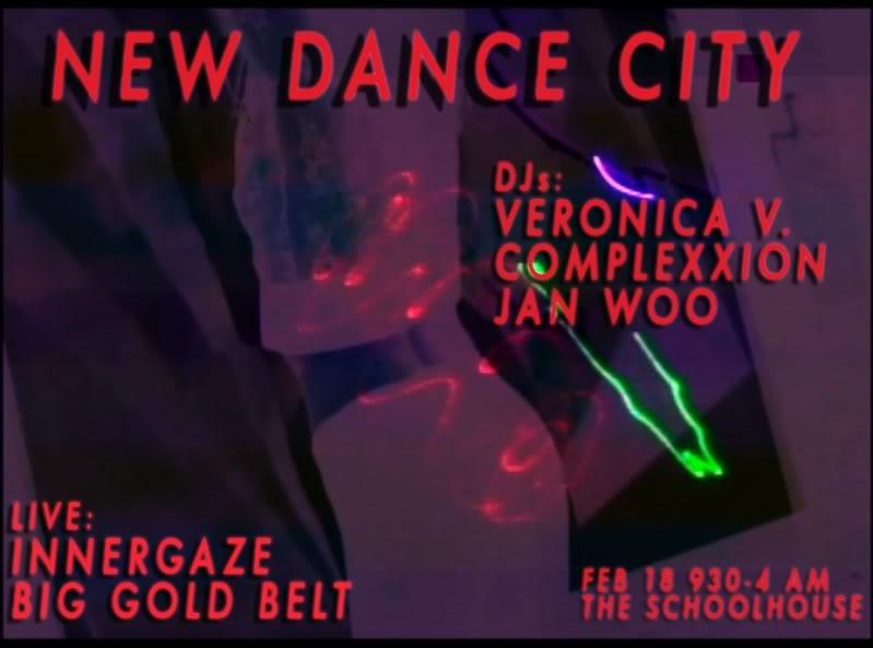 New Dance City: Veronica Vasicka, Complexxion, Jan Woo, Innergaze, Big Gold Belt  February 2011