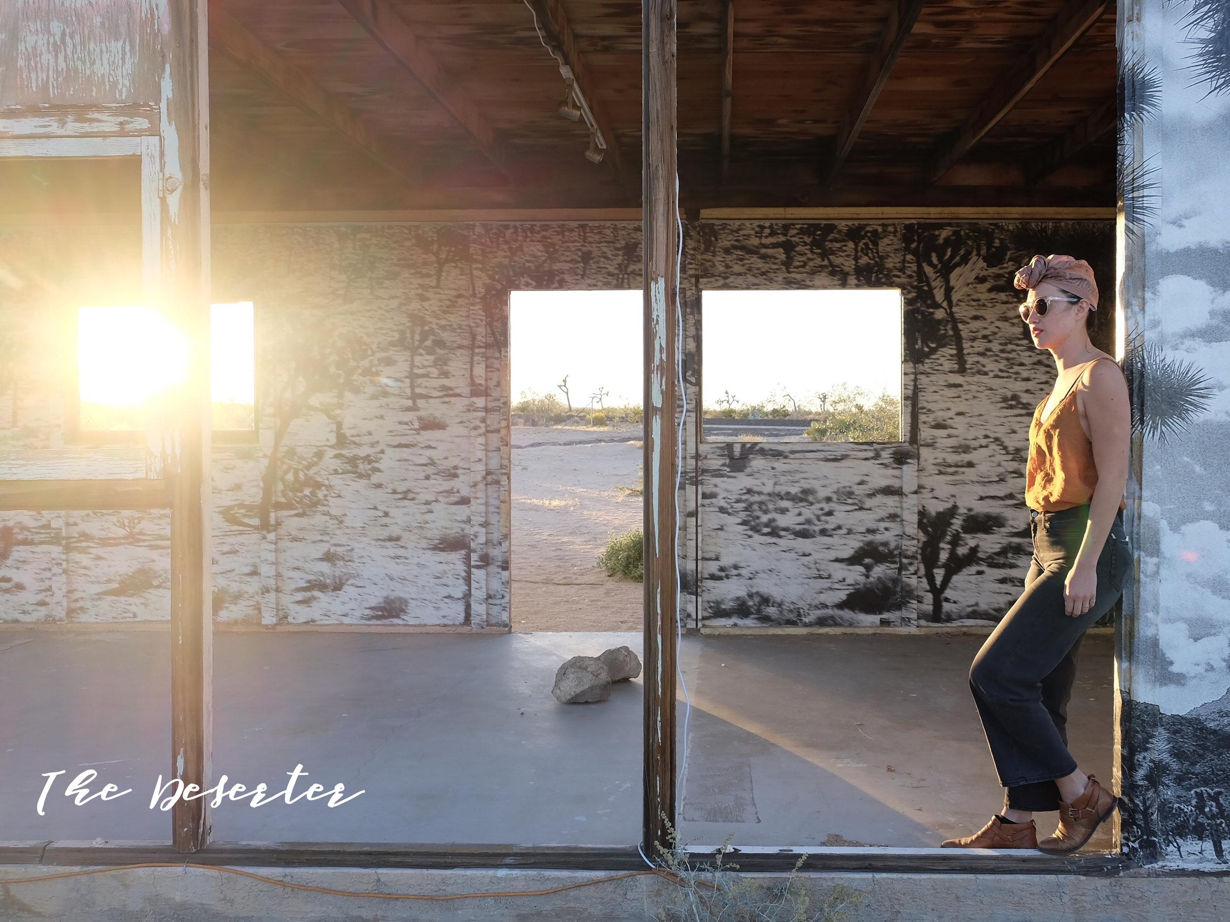 Ozma bandana  /  LACAUSA Slip Tank / Gap Wide Leg Jeans /  Freda Salvador Man boots