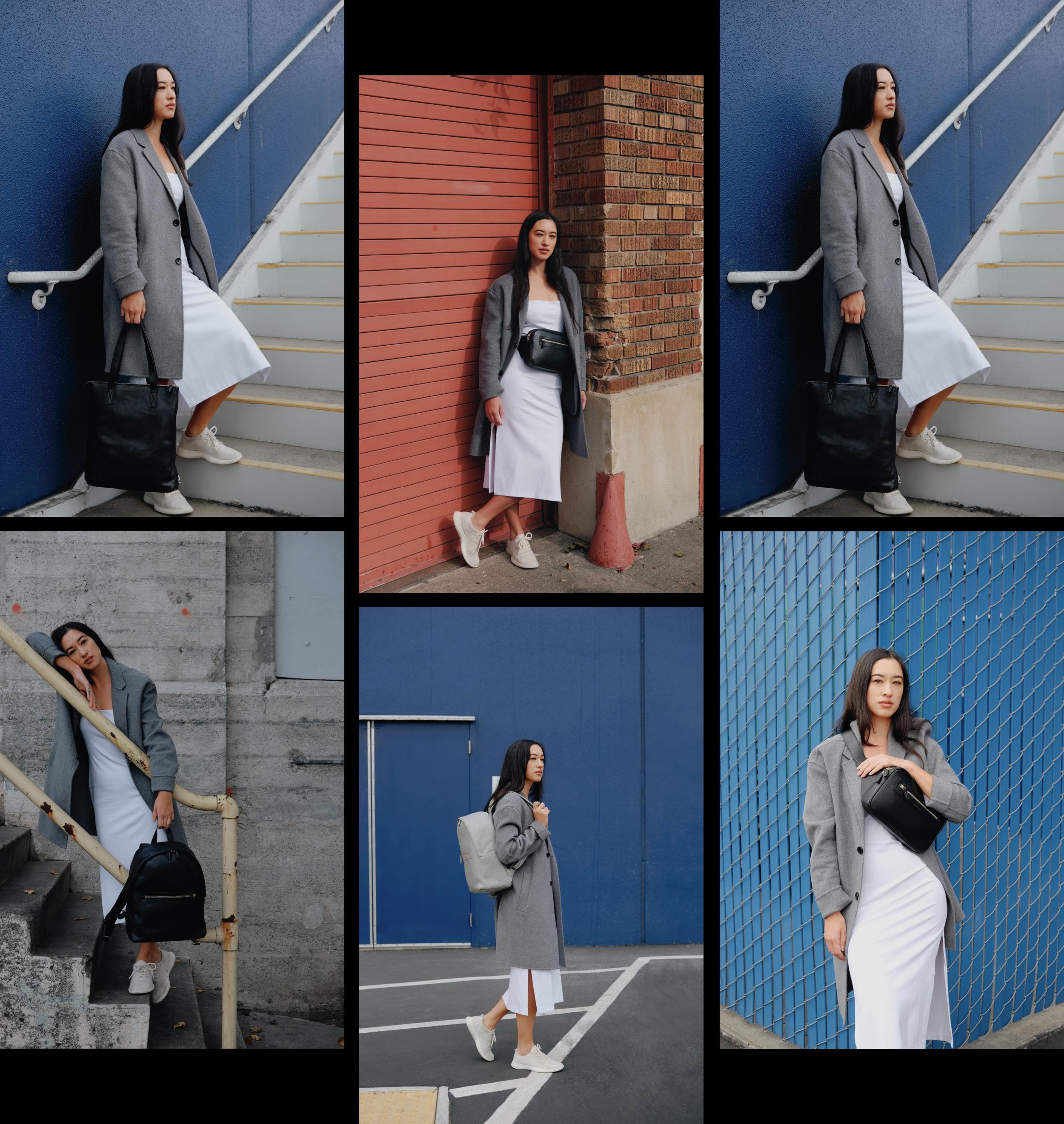 Bags featured:  NO° A1 - BLACK  |  NO° D1 - BLACK  |  NO° C1 - BLACK  |  NO° C2 - GREY