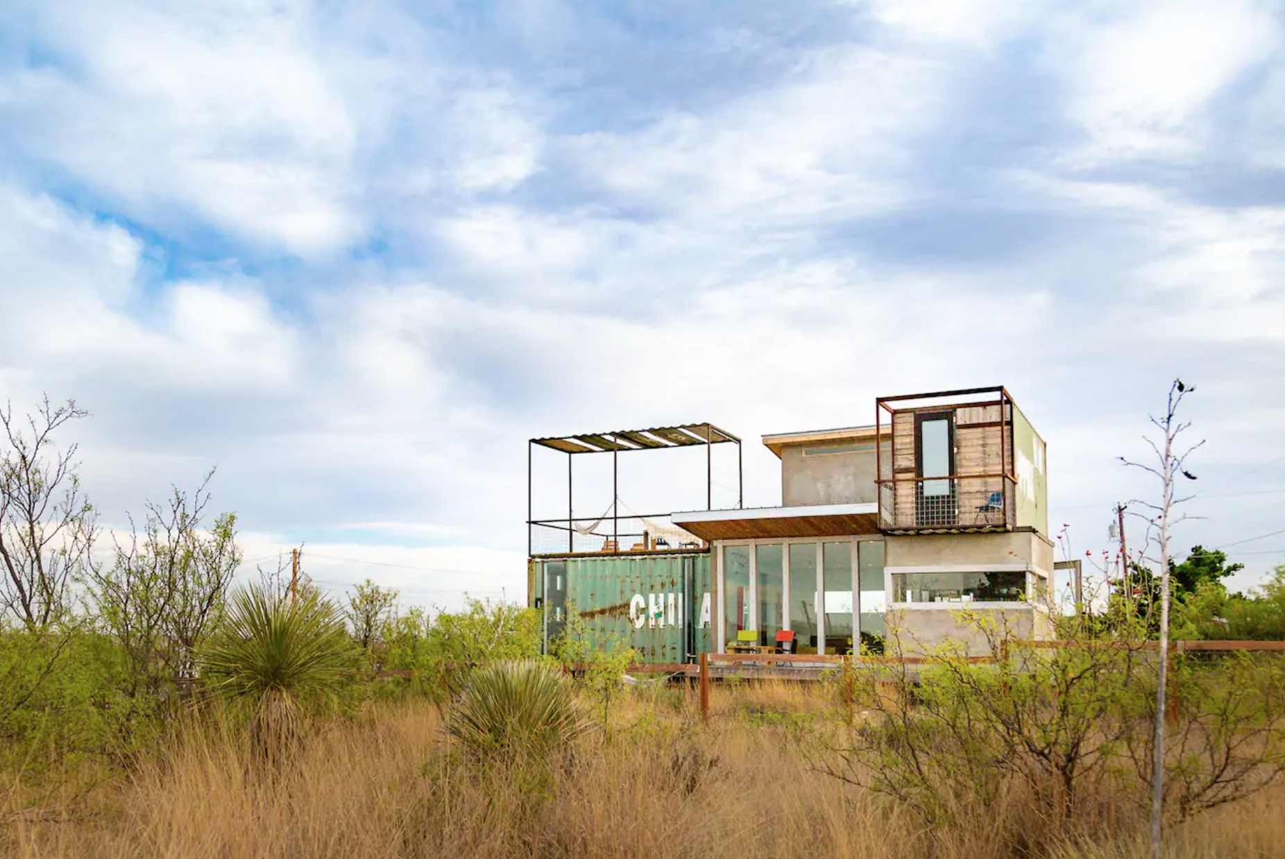 Hermosa Container House   Photo via Airbnb