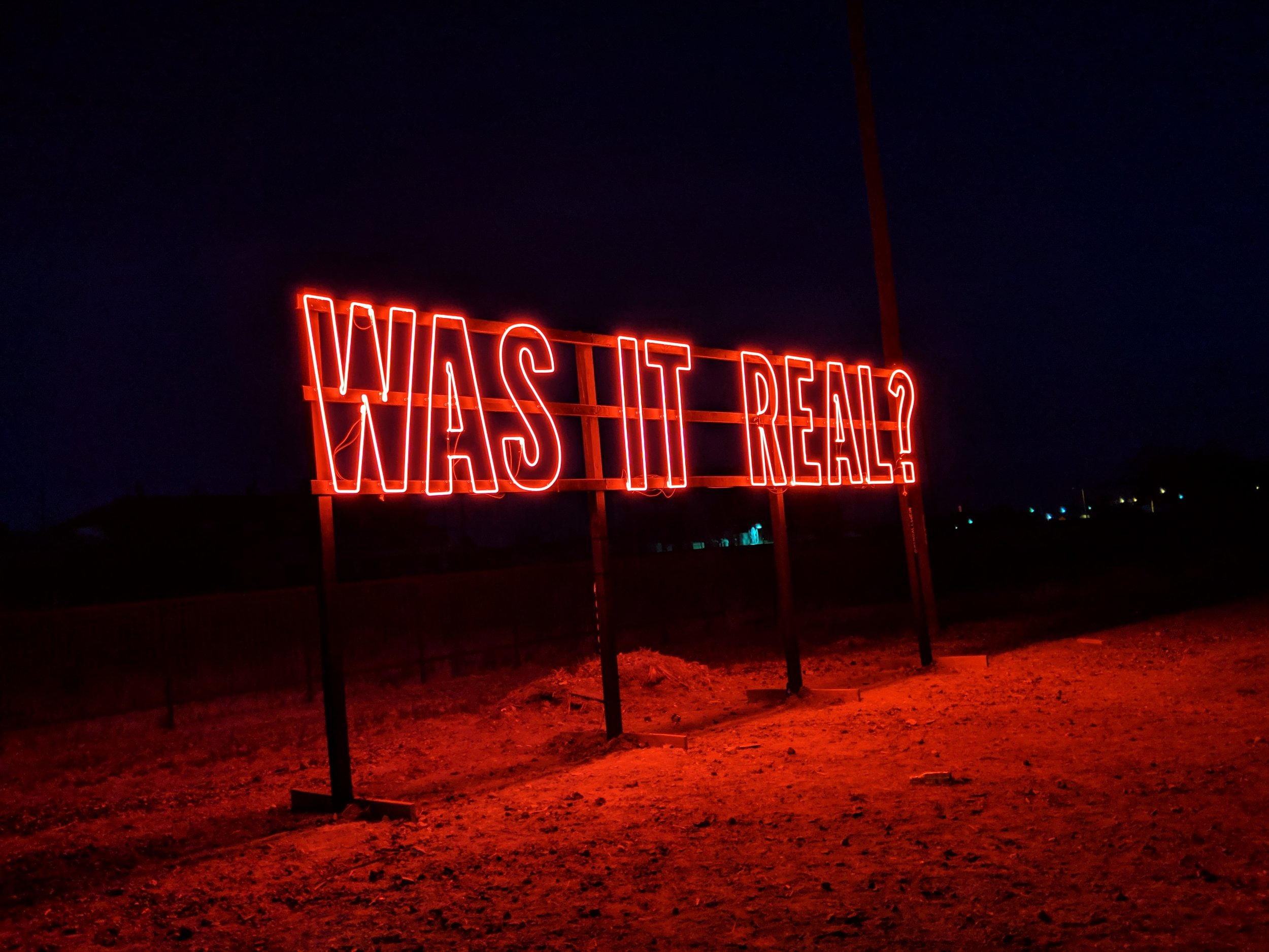 Neon art by    Kendall Weir    at Pure Joy.