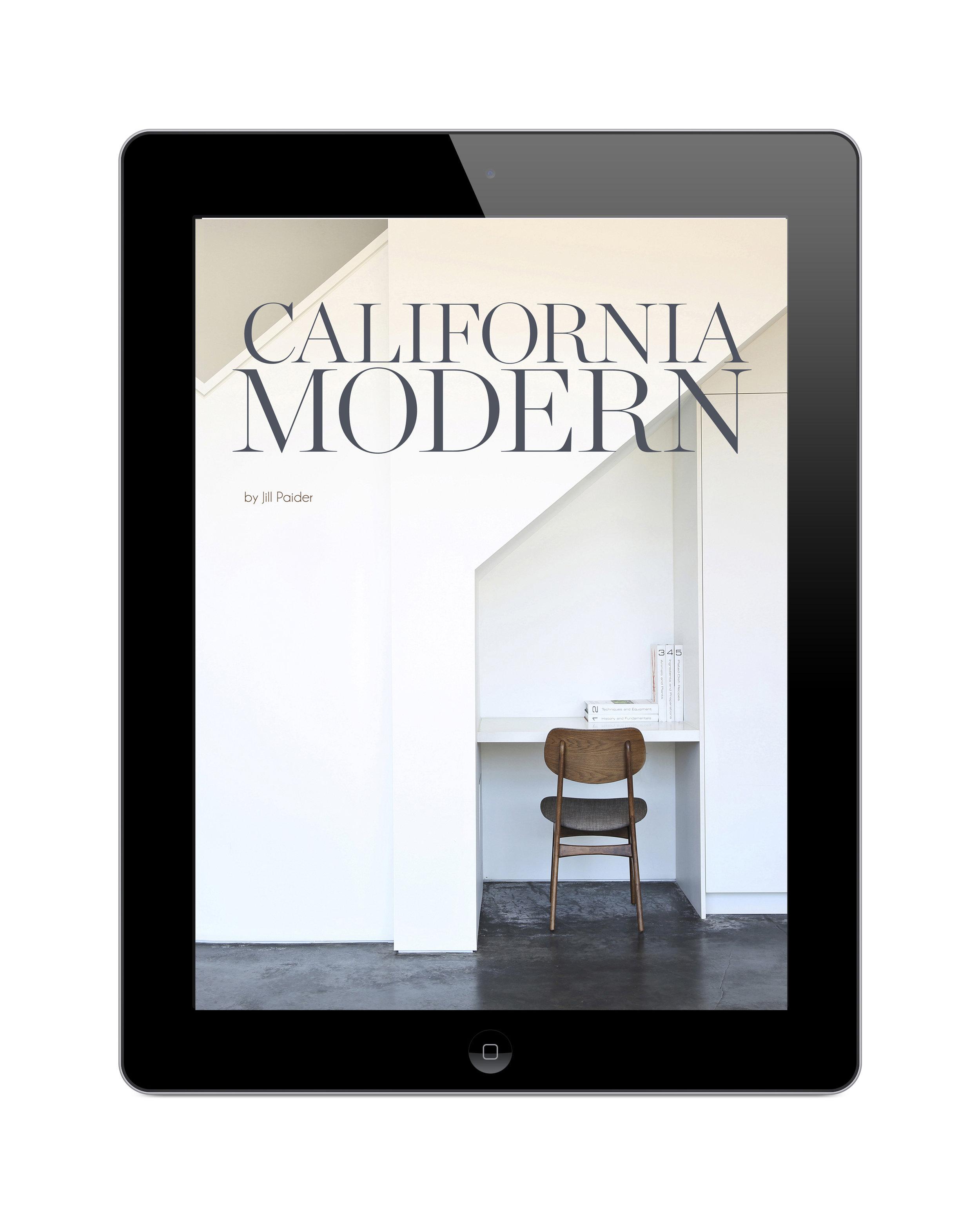CALIFORNIA MODERN - DIGITAL EDITION