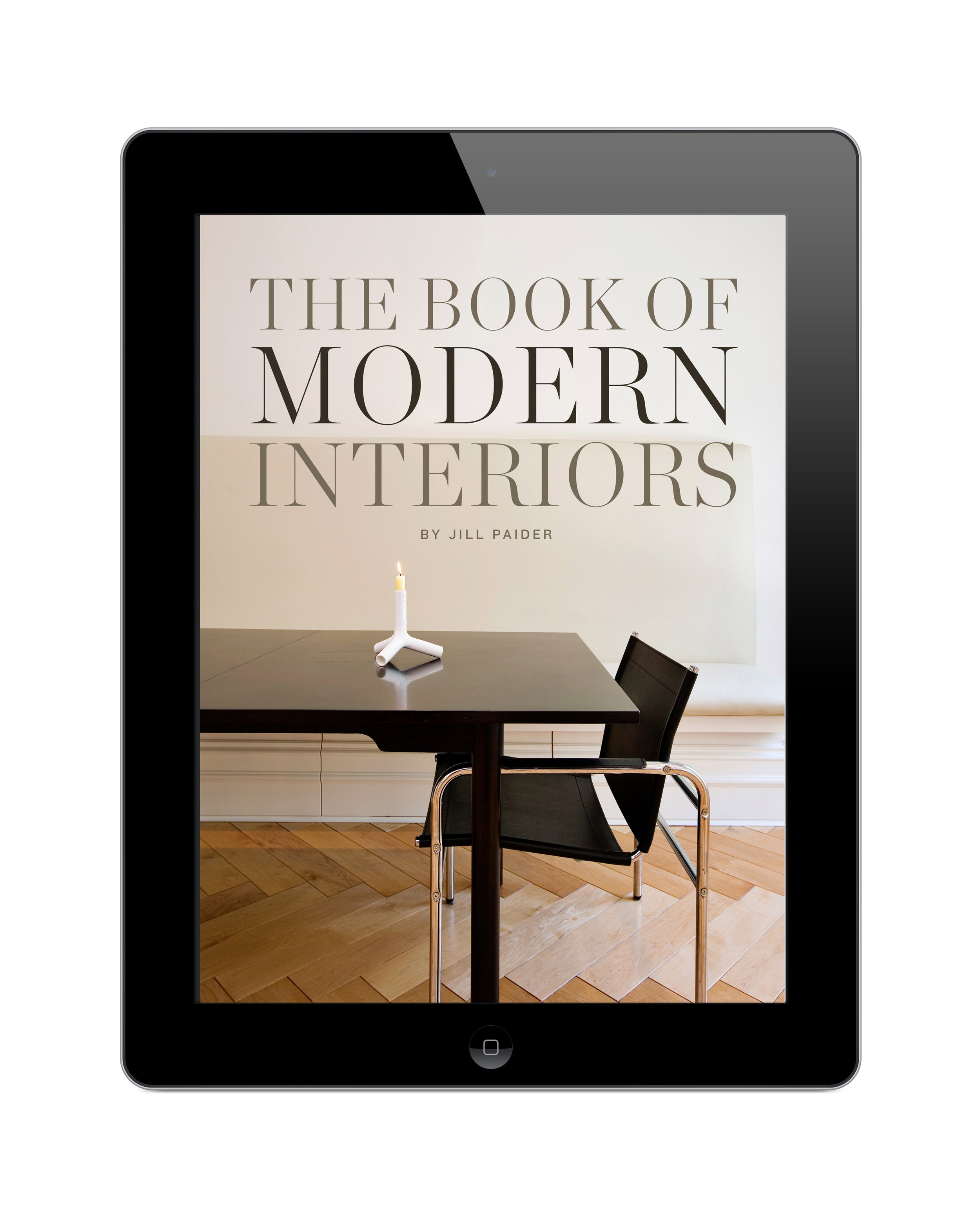 THE BOOK OF MODERN INTERIORS - DIGITAL EDITION