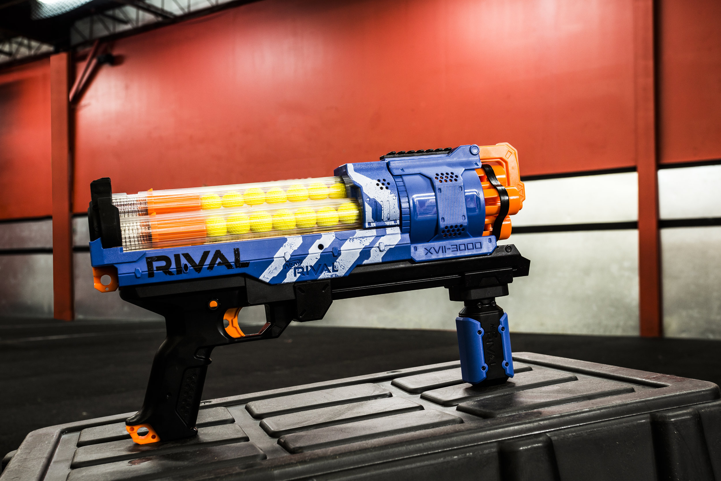 toronto nerf wars blue rival xvii-3000 archers arena nerf combat.jpg