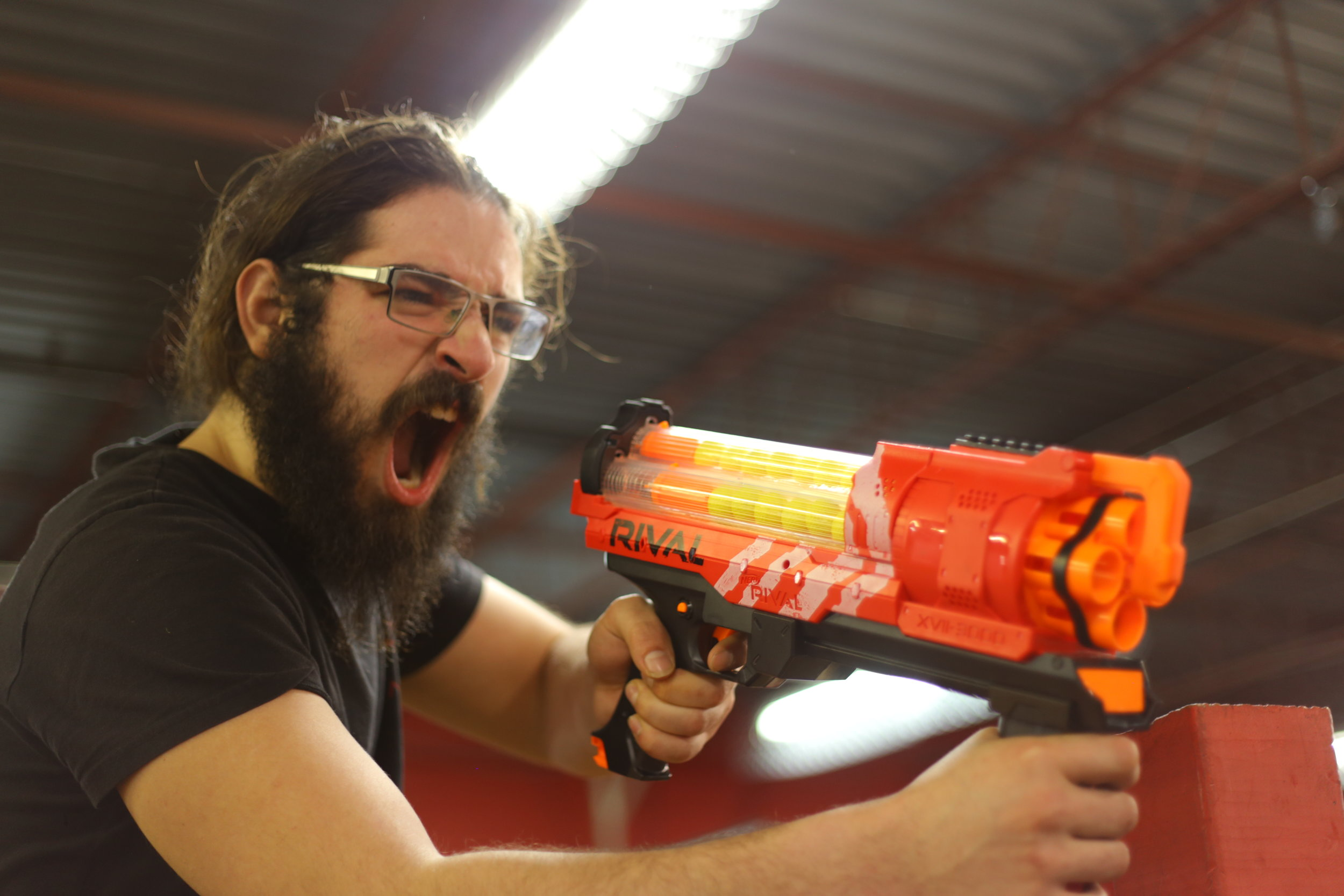 toronto nerf wars red Rival archers arena nerf combat battle.JPG