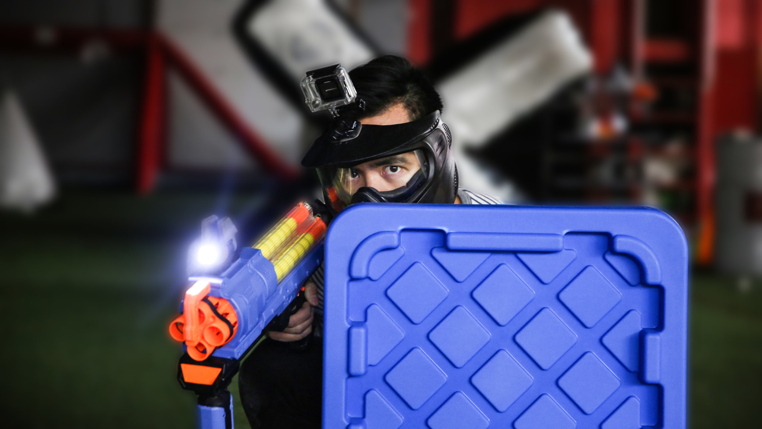 Nerf Wars Toronto Tactical Shield Archers Arena