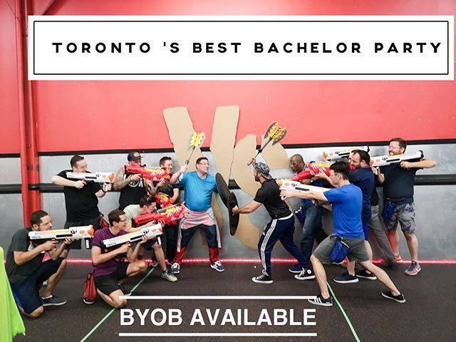 Best bachelor party in #Toronto #the6 #bachelorparty #byob #eventplanner