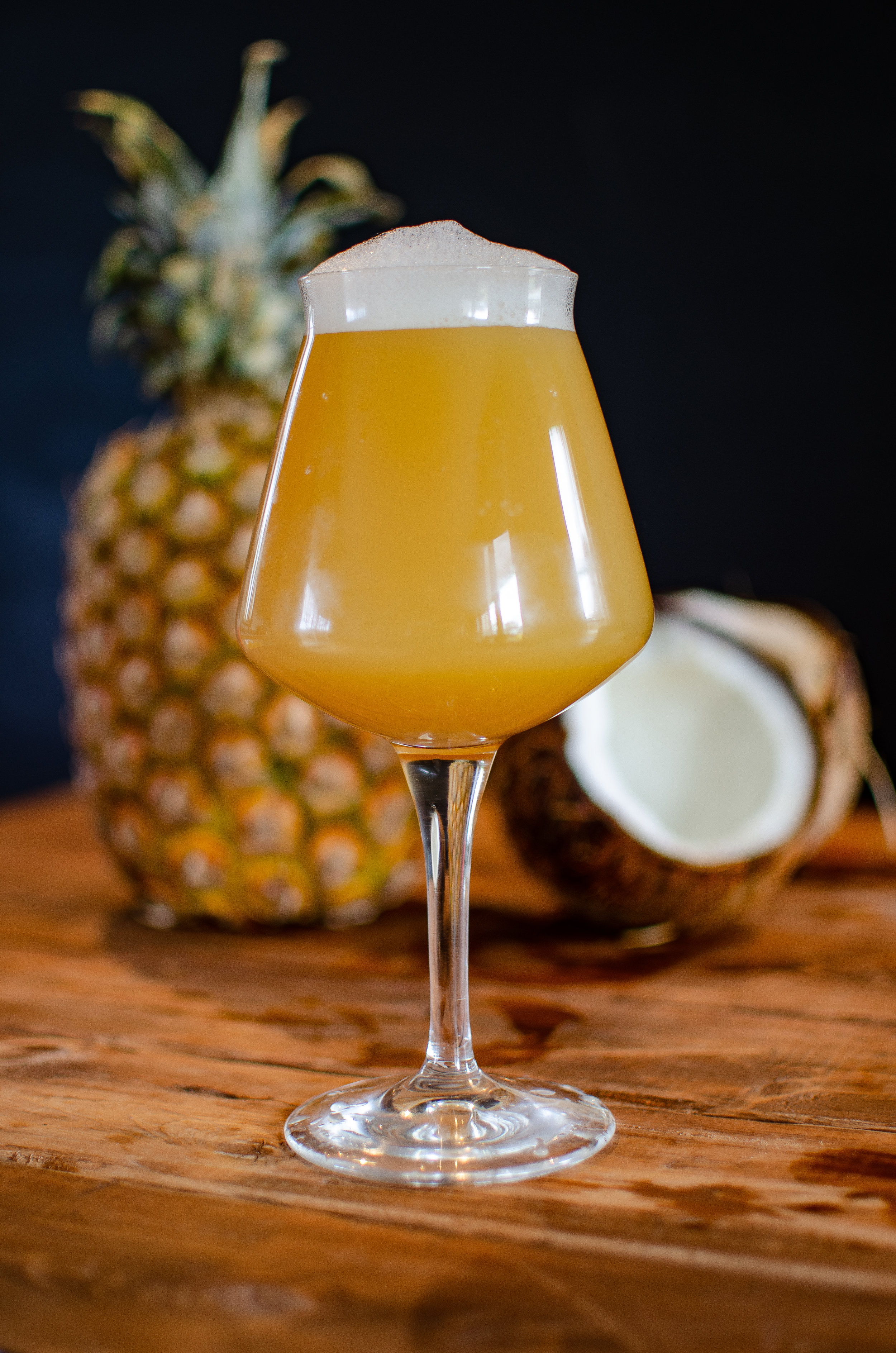 Aloha Summer, Session IPA - ALOHA SUMMER drops Friday. A session IPA with pineapple, coconut, and milk sugar added to create a Pina Colada inspired beer. Slim and trim at 4% abv. This summer slammer won't leave you caught in the rain or face down in the sand.I was tired of my IPAWe'd been together too longLike a worn out recordingOf our favorite songSo while I lay there drinkingI read the Facebook in bedAnd on the Kettlehead pageThere was this post that I read...If you like Pina ColadasAnd getting hops off your brainIf you're not into dark beerIf you want a new strainIf you like drinking till midnight and pounding the beersI'm the love that you've looked forALOHA SUMMER is here ☀️🥥🍍