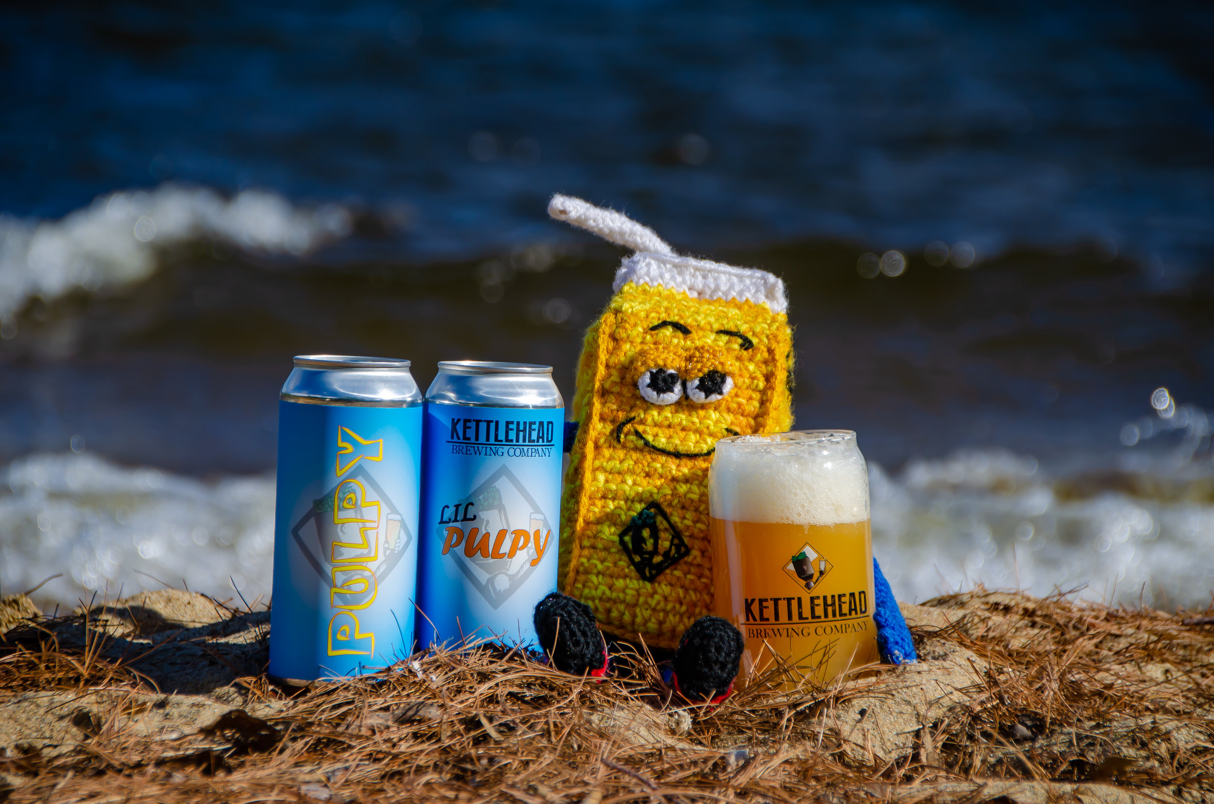 Lil' Pulpy Session IPA, 4.2% - They say dogs look like their owners. Well, Lil' Pulpy doesn't look like his owner, but he does taste like him. Light, crisp, juicy and sessionable