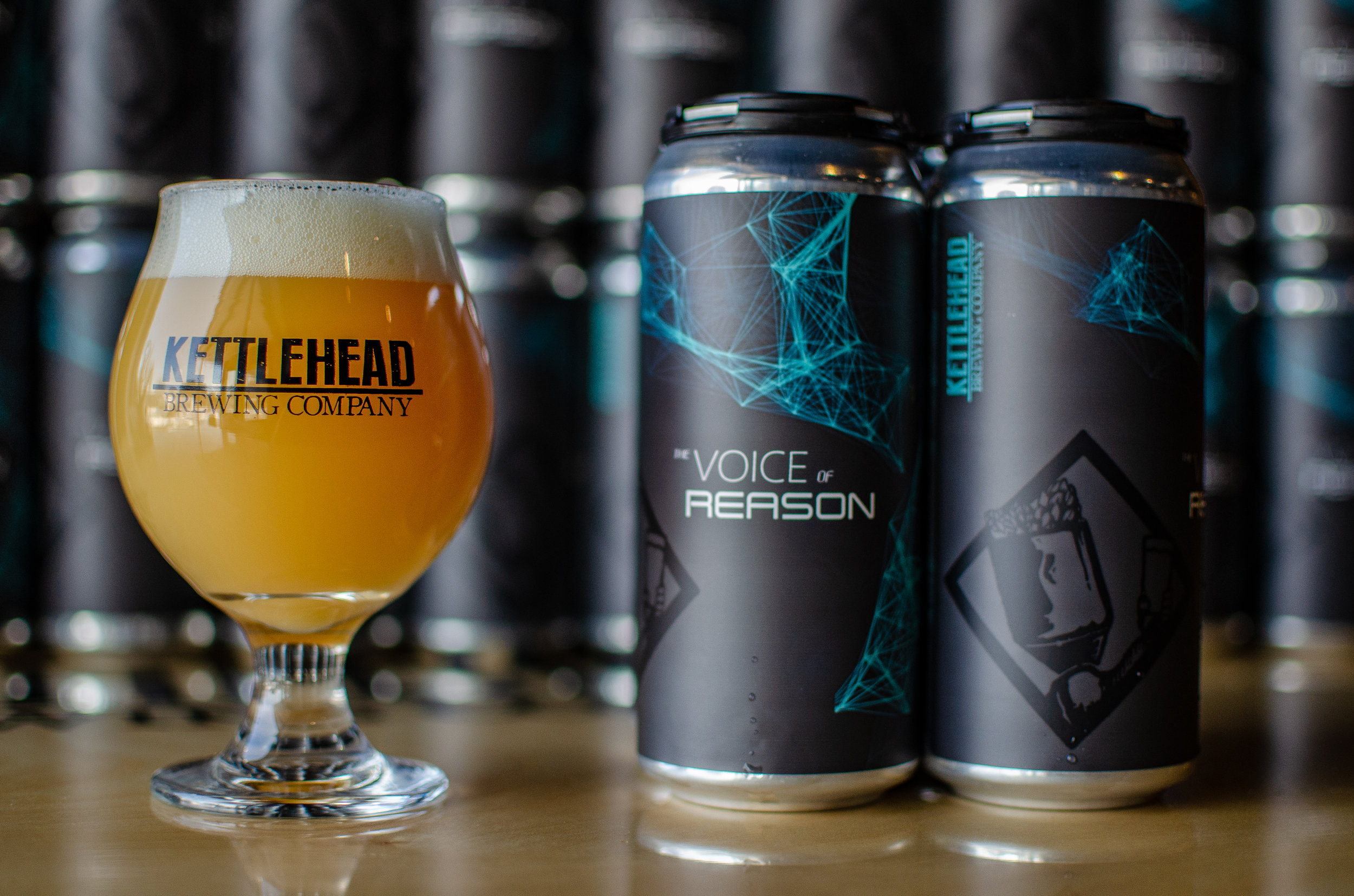 The Voice Of Reason, DIPA -  DIPA with a massive addition of New Zealand hops producing notes of lime and tropical fruits. 8% abv